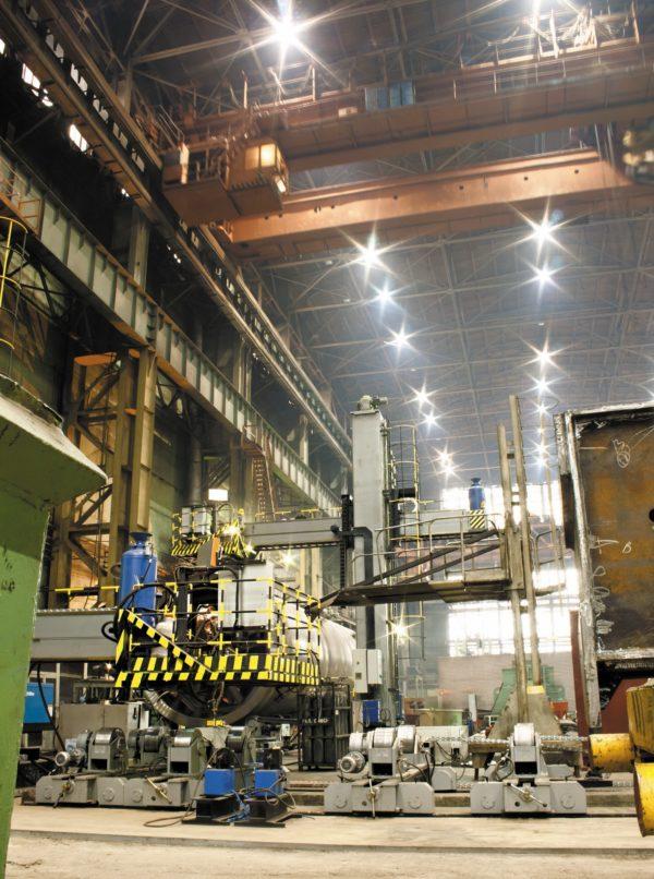 Освещение промышленного предприятия