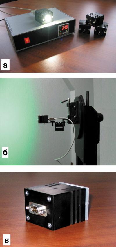Внешний вид эталонного источника (контроллер со светоголовками)