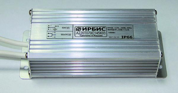 Внешний вид источников питания «ММП-Ирбис» в металлическом корпусе