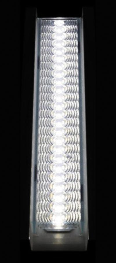 Распределение яркости по поверхности линзы LINNEA-GС2