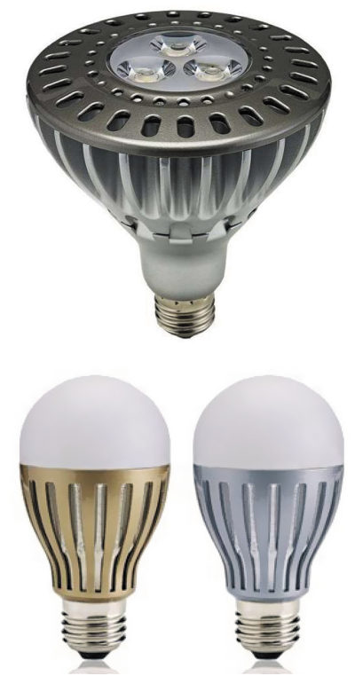 Лампа замещения: сверху - SL-PAR38;  снизу - SL-60A