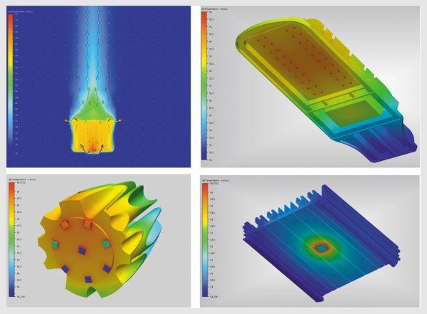 Примеры теплового моделирования