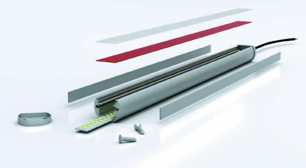 Защищенный патентом CFQD линейный светильник длинноволнового красного света сбескадмиевыми квантовыми точками