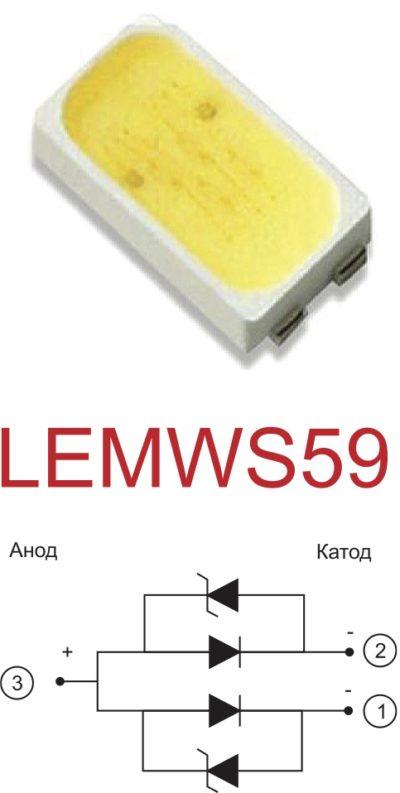 Внешний вид и структура приборов группы LEMWS59