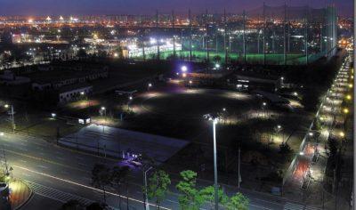 Освещение паркового комплекса в г. Бучен, Южная Корея