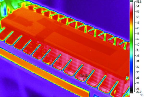 Тепловая модель нового LED-светильника