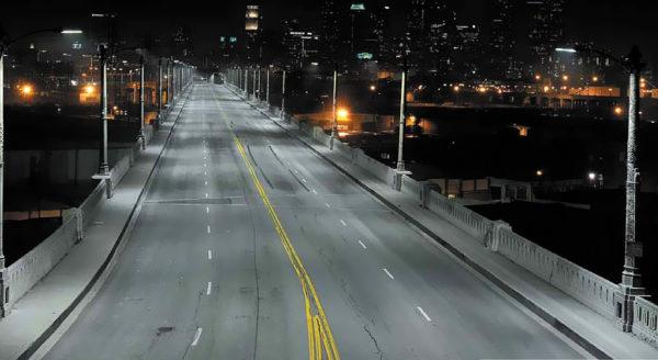 «Светодиодная улица» в Лос-Анджелесе