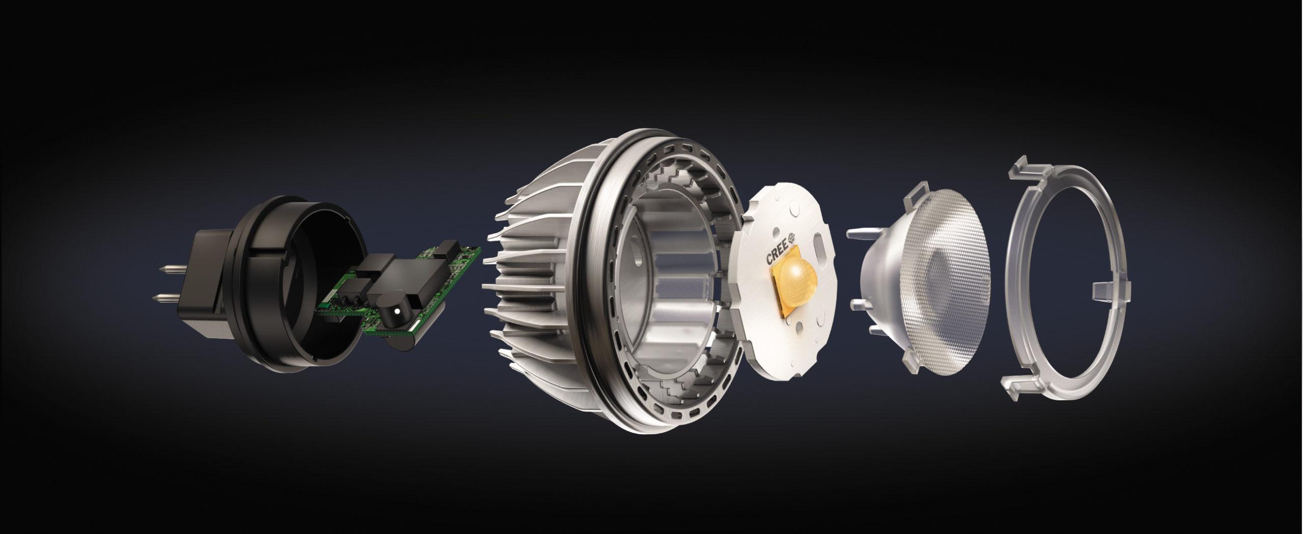 Устройство лампы LM16