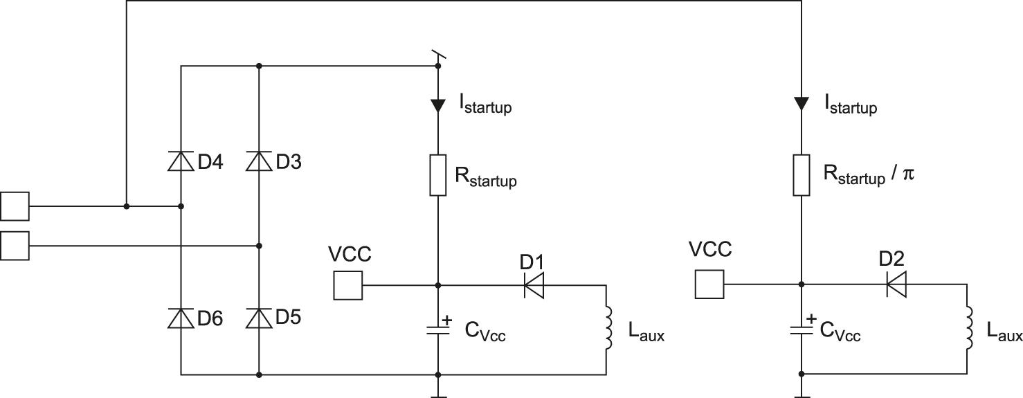 Схемы подключения пускового резистора