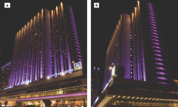 Освещение гостиничного комплекса «Альфа» в Москве с применением светодиодов SemiLEDs