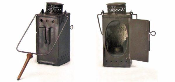 Универсальный масляный светильник из коллекции Военного музея в Будапеште