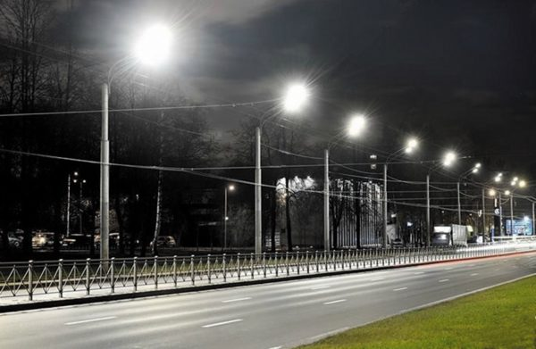 Пилотный проект светодиодного освещения одной из магистралей Санкт-Петербурга