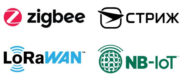 Официальные логотипы беспроводных технологий