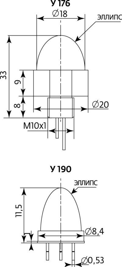 Конструкции ИК-диодов