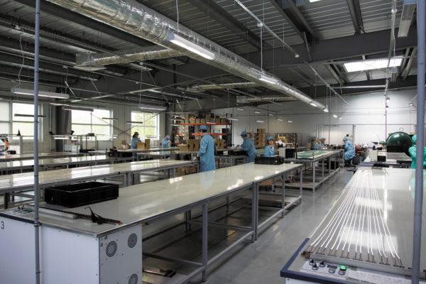 Производство светодиодных лент