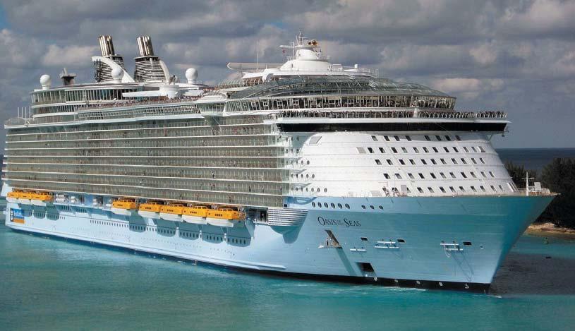 Круизное судно «Оазис морей»