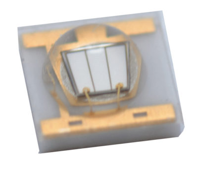 Мощные УФ-светодиоды серии C3535U-UNx1 с углом светораспределения 125° компании SemiLEDs