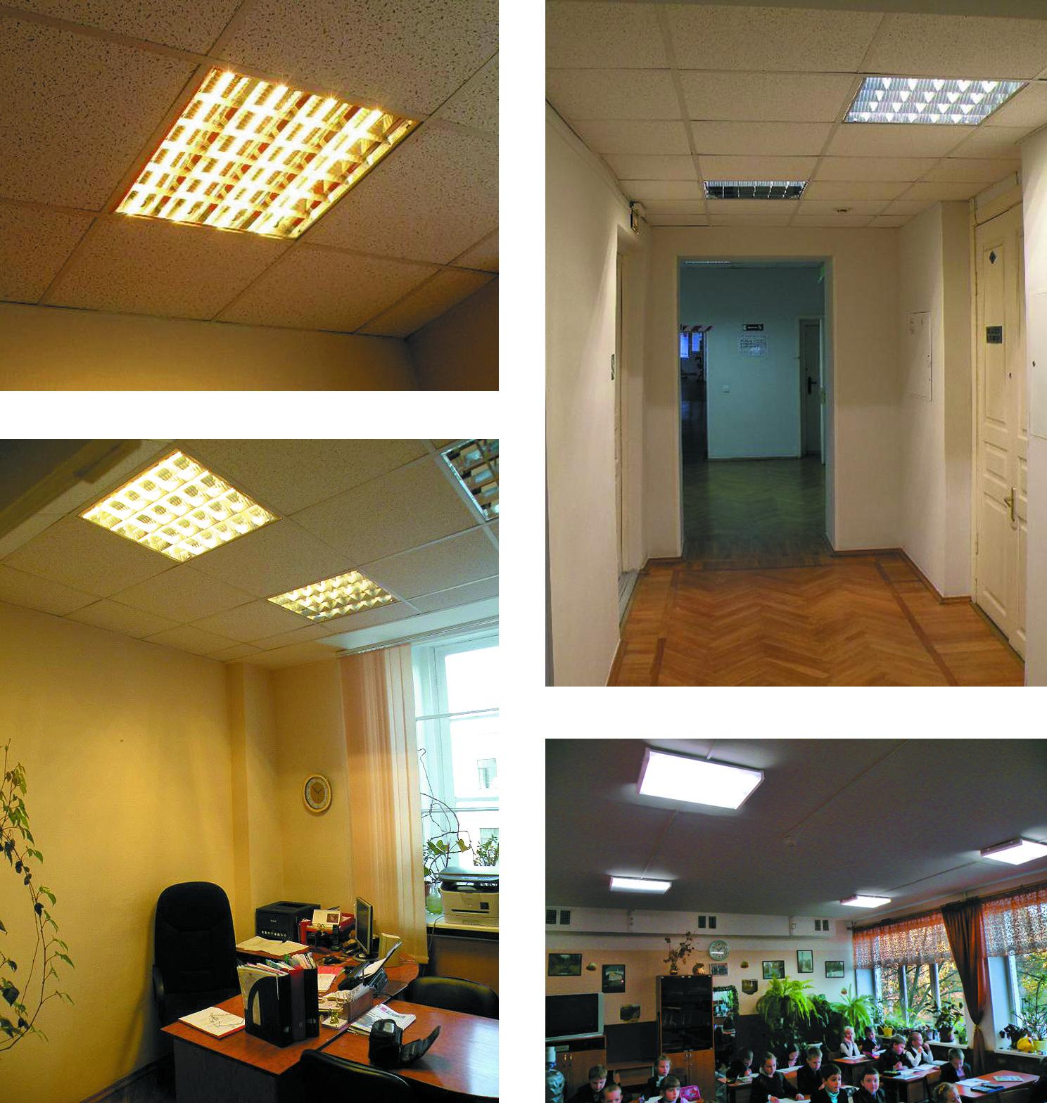 Примеры применения ламп СЛЛ-12