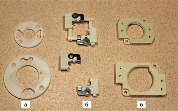 Держатели для светодиодных модулей CXA различных производителей:  Mekoda; TE Connectivity; Molex