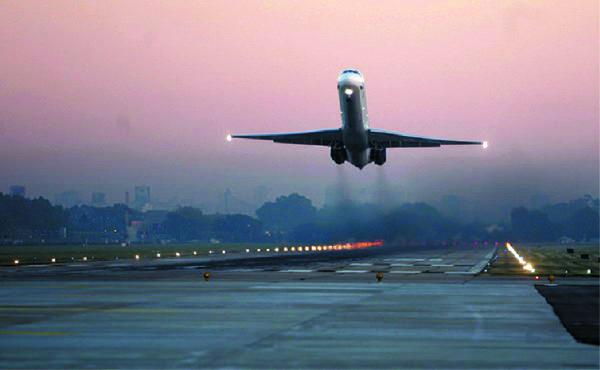 Сигнальные огни взлетно-посадочной полосы