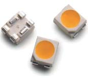 Внешний вид светодиодов в корпусах PLCC-4