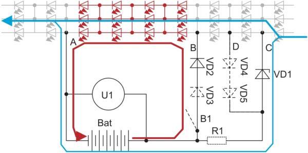 Режим аварийного эвакуационного освещения в светодиодных светильниках