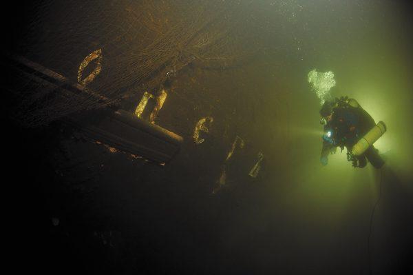 Фрагмент фрегата «Олег»