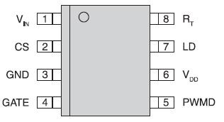 Расположение выводов микросхемы CPC9909