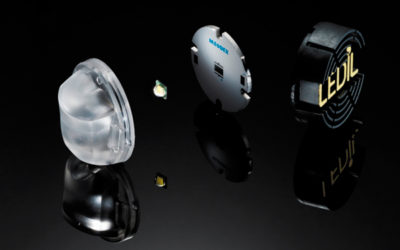 Линзы компании LEDiL с использованием силиконов не только определяют форму светового пучка, но и обеспечивают влагозащищенность