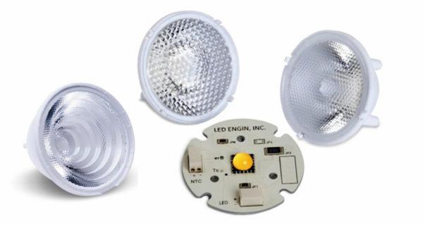 TIR-линзы компании LED Engin с мощными светодиодами