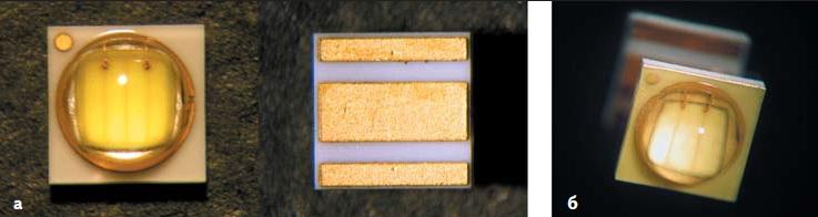 Внешний вид светодиодов ZPower LEDZ5-M0 и ZPower LEDZ5-M1