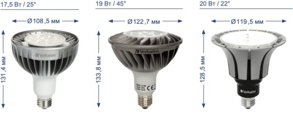 Лампы PAR38