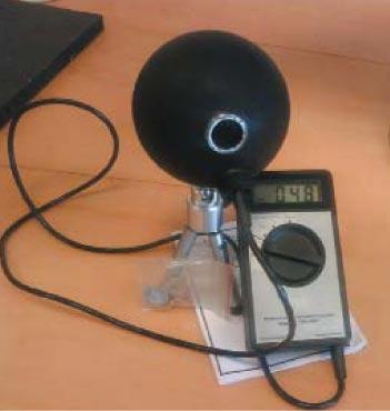 Внешний вид опытного экземпляра прибора «ТКА-КК» для измерения полного светового потока излучающего светодиода