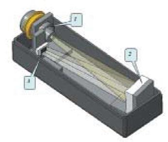 Фотоприемное устройство (ФПУ) спектроколориметра