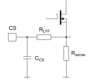 Фрагмент внутренней схемы контроллера