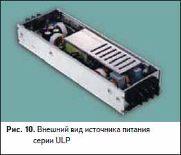 Внешний вид источника питания серии ULP