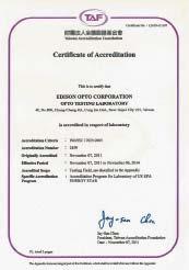 Сертификат лаборатории LM-80