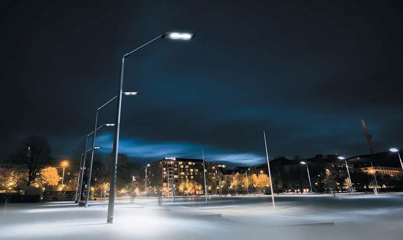 Использование светодиодов для уличного освещения