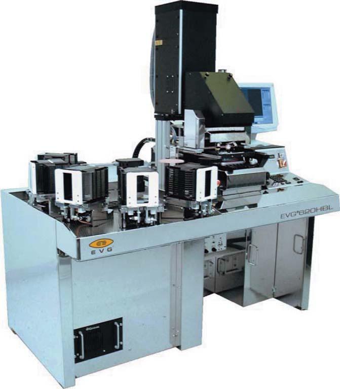EVG 620HBL -  автоматизированная установка совмещения и экспонирования для производства  светодиодов