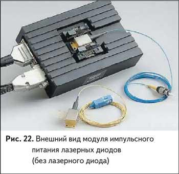 Внешний вид модуля импульсного питания лазерных диодов (без лазерного диода)