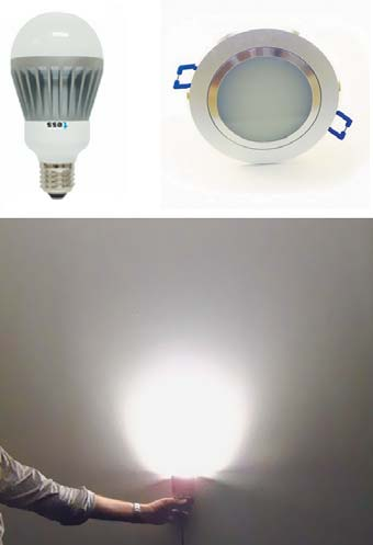 Пример использования светодиода серии XP-E HEW
