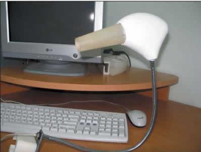 Видеокольпоскоп «Викомед», подключенный к персональному компьютеру