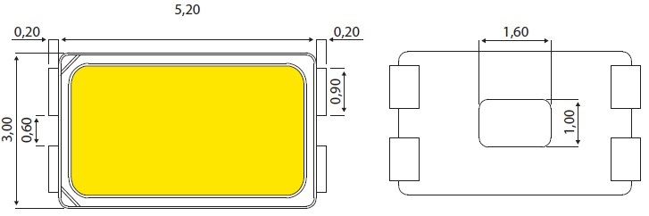 Ключевое изделие SSC— светодиод типа 5630
