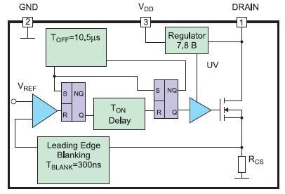 Структурная схема микросхемы AN9920