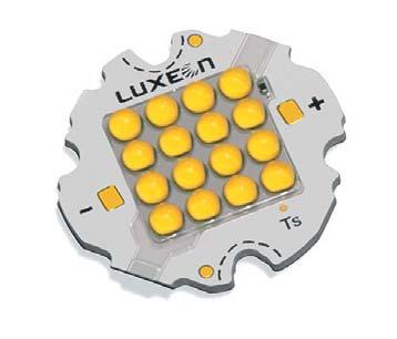 Внешний вид LED-матриц от Philips Lumileds Luxeon K16