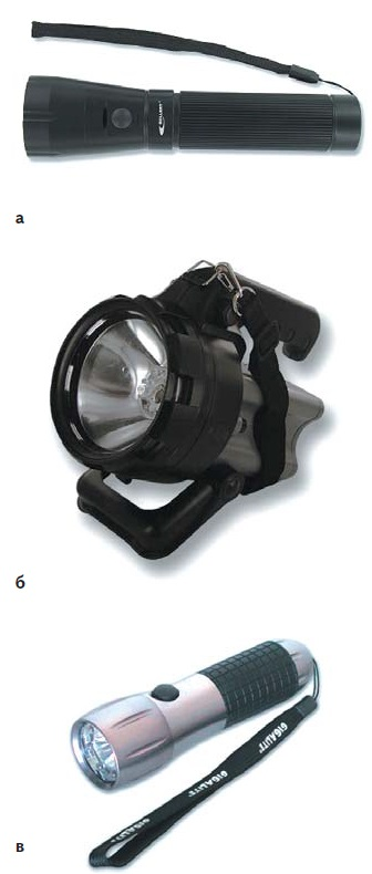Комбинированные осветители фирмы Mellert: а) TL42 HYBRID; б) SEARCH-LITE HYBRID; в) HYBRID G9
