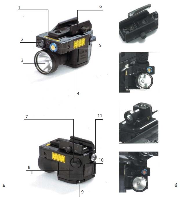 Комбинированный осветитель-целеуказатель LLM