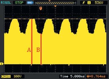 Напряжение настоке транзистора