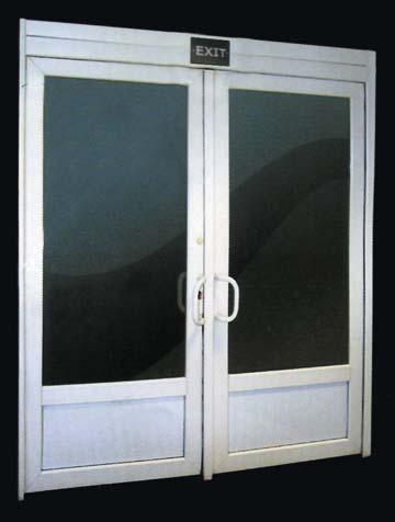 Пример установки IR-plate на двери