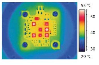 Инфракрасное изображение LED-платы